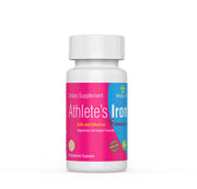 NATURAL BLOOD BOOSTER. THE NEST IRON SUPPLEMENT FOR ATHLETES'