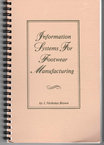 Information Systems for Footwear Manufacturing