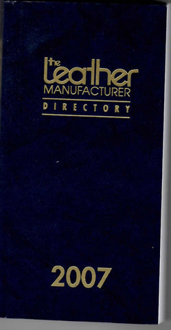Leather Manufacturer Directory 2007