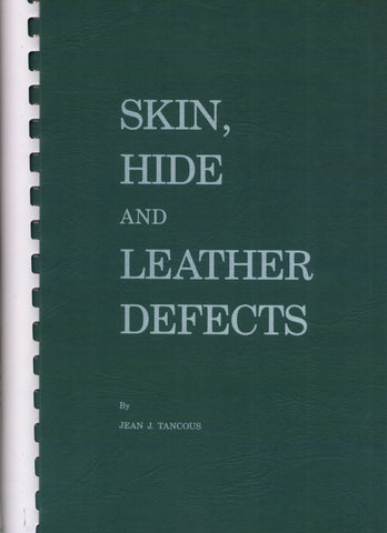 Skin,Hide & Leather Defects