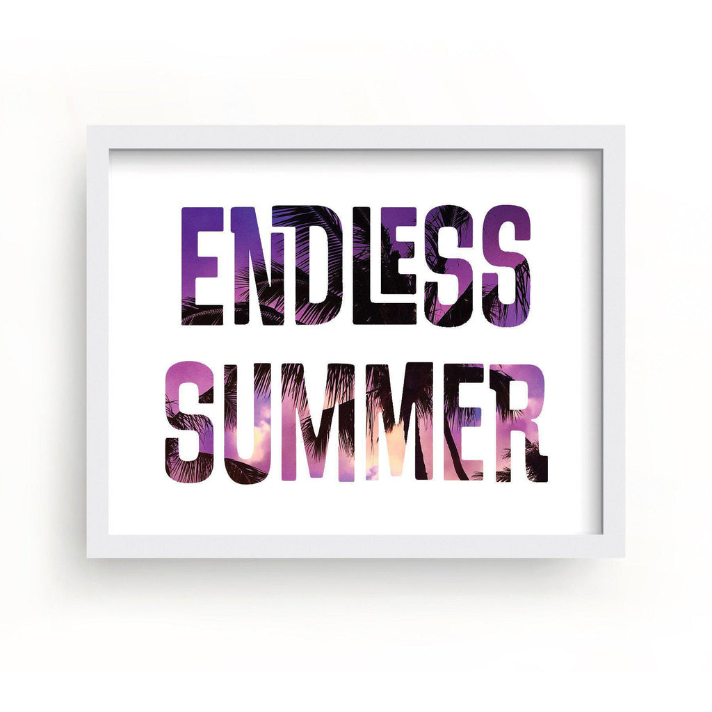 Endless Summer Hawaii Print-Art Prints-Lazy J-Lazy J