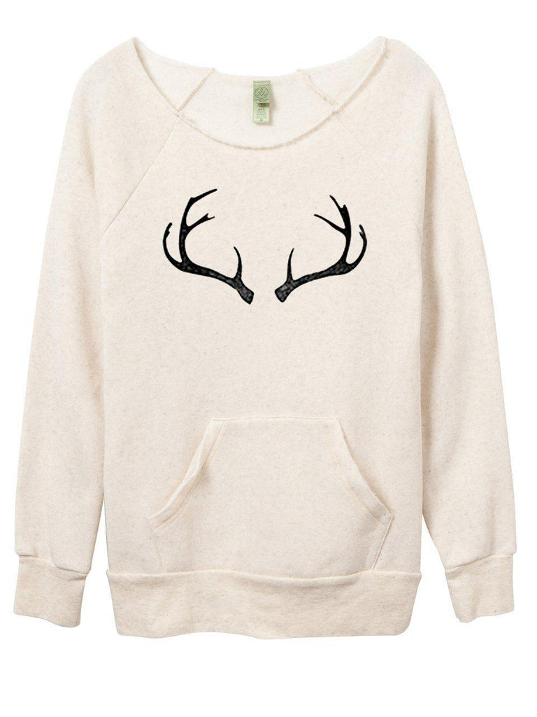 FINAL FEW! Antler Sweatshirt-Sweatshirt-Lazy J-Lazy J