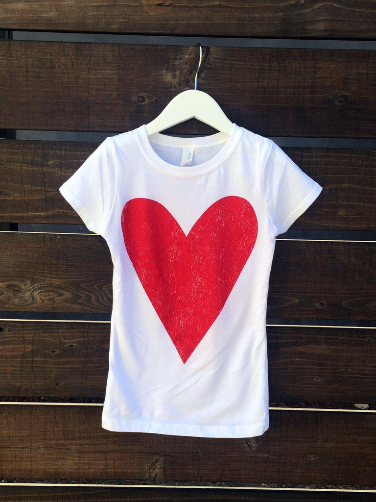 Red Heart Kids Tee-Kids-Lazy J-Lazy J