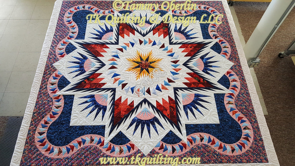 Glacier Star Quilting Pictures