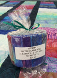 Jewel Tone Batik Candy Roll
