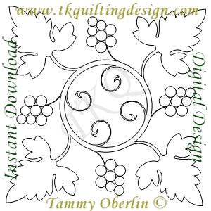 2230A Grapevine Wreath Block