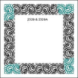 2329A Scrolling Feather Bdr Cnr - TK Quilting & Design