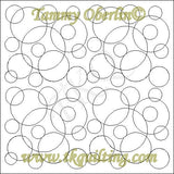 2475 Totally Mod Circles E2E - TK Quilting & Design