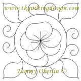 2568A Pansy Block 10