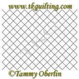 2791D 8x10 Cross Hatch Block - TK Quilting & Design