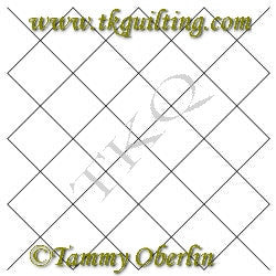 2791 4x4 Cross Hatch Block - TK Quilting & Design