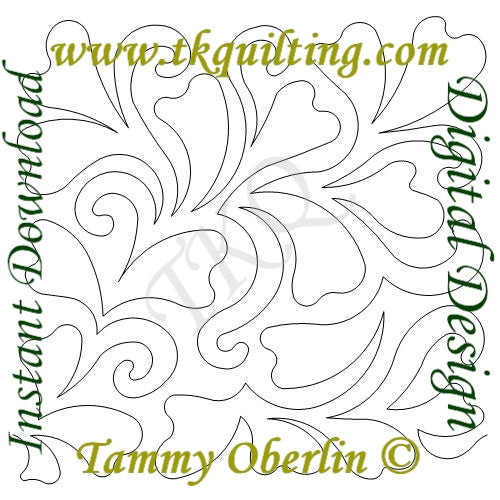 2799 Fanciful E2E - TK Quilting & Design