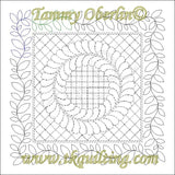 2810A Vine Border 4 - TK Quilting & Design