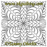 2819G Mirrored Feather Block 18 - TK Quilting & Design