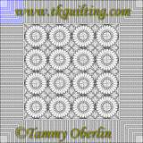 2826 Cross Hatch Piano Key Bdr - TK Quilting & Design