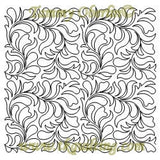 2928B Freehand Feathers & Ferns E2E - TK Quilting & Design