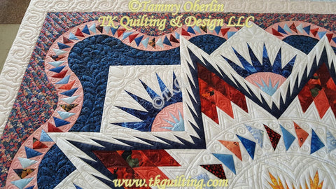 Machine Quilting Notes From Tammy Oberlin - TK Quilting