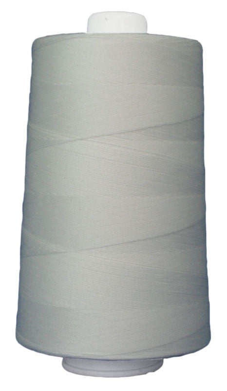 Omni #3002 Natural White 6000 yds poly-wrapped poly core - TK Quilting & Design