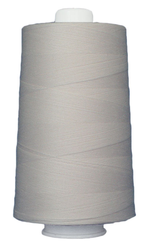 Omni #3003 Pearl White 6000 yds poly-wrapped poly core