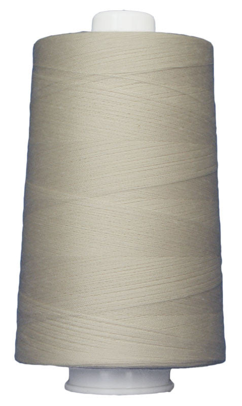 Omni #3004 Cream 6000 yds poly-wrapped poly core - TK Quilting & Design