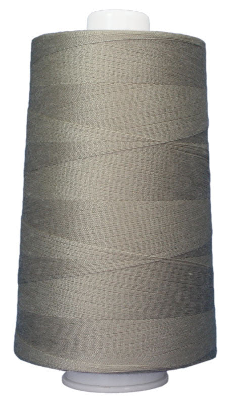 Omni #3009 Colonial Gray 6000 yds poly-wrapped poly core - TK Quilting & Design