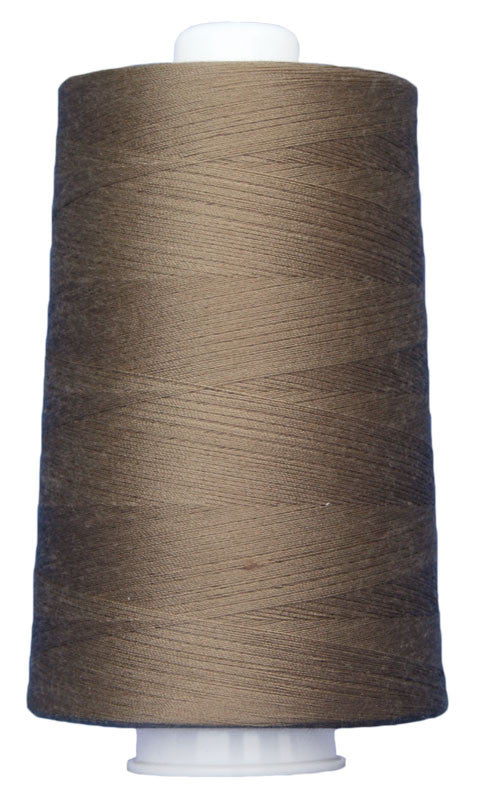 Omni #3012 Dark Tan 6000 yds poly-wrapped poly core - TK Quilting & Design
