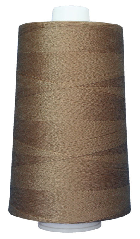 OMNI #3018 Oak 6000 yds Poly-wrapped poly core - TK Quilting & Design