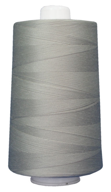 OMNI #3021 Ash Gray 6000 yds Poly-wrapped poly core - TK Quilting & Design