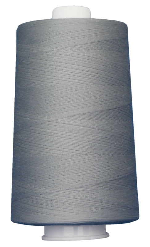 OMNI #3022 Silver 6000 yds Poly-wrapped poly core - TK Quilting & Design