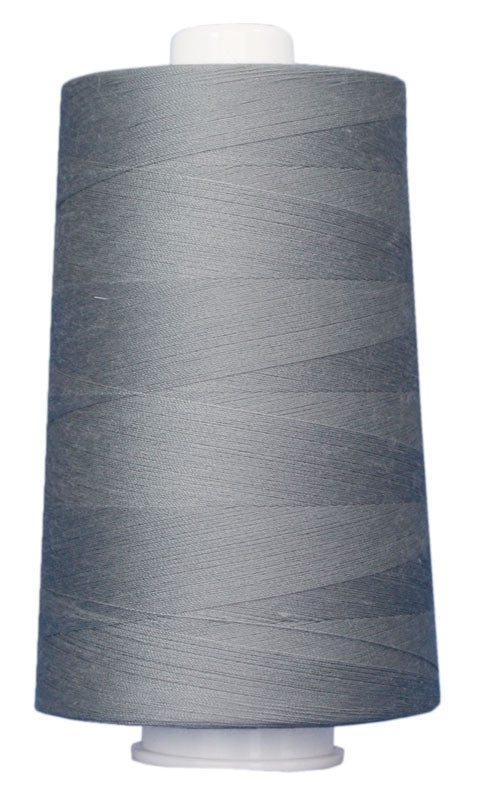 OMNI #3024 Medium Gray 6000 yds Poly-wrapped poly core - TK Quilting & Design