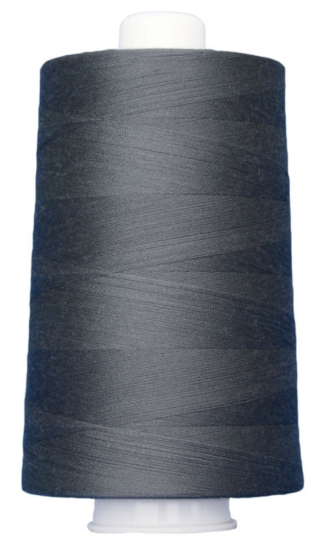OMNI #3025 Dark Gray 6000 yds Poly-wrapped poly core - TK Quilting & Design