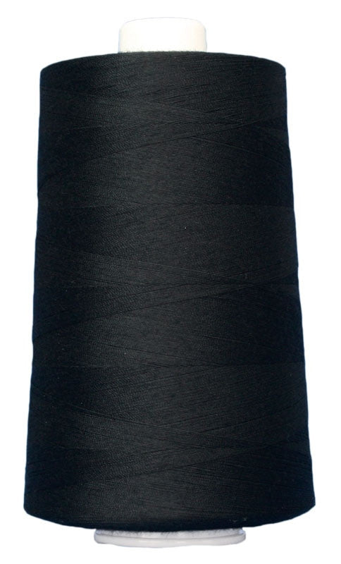 OMNI #3026 Black 6000 yds Poly-wrapped poly core - TK Quilting & Design