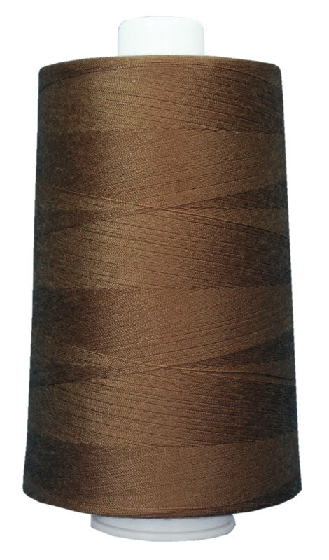 OMNI #3029 Milk Chocolate 6000 yds Poly-wrapped poly core - TK Quilting & Design