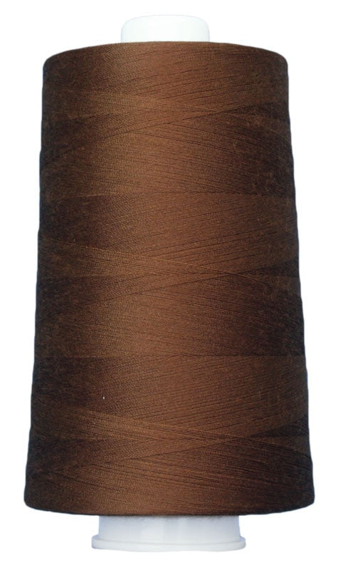 OMNI #3030 Medium Brown 6000 yds Poly-wrapped poly core - TK Quilting & Design