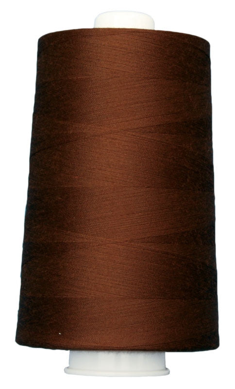 OMNI #3032 Mohogany 6000 yds Poly-wrapped poly core - TK Quilting & Design