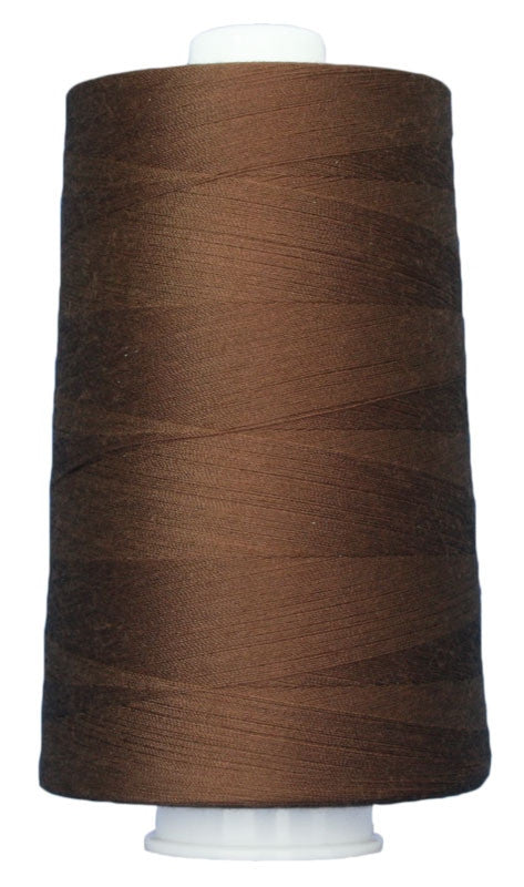 OMNI #3034 Brownstone 6000 yds Poly-wrapped poly core - TK Quilting & Design