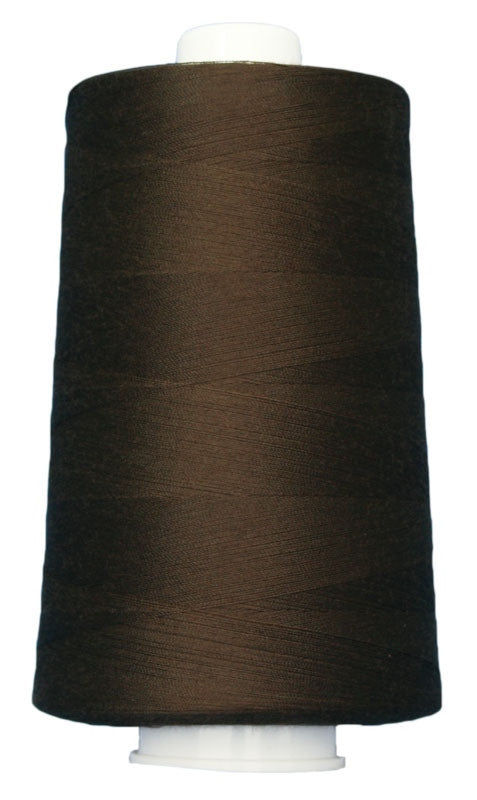 OMNI #3038 Black Walnut 6000 yds Poly-wrapped poly core - TK Quilting & Design