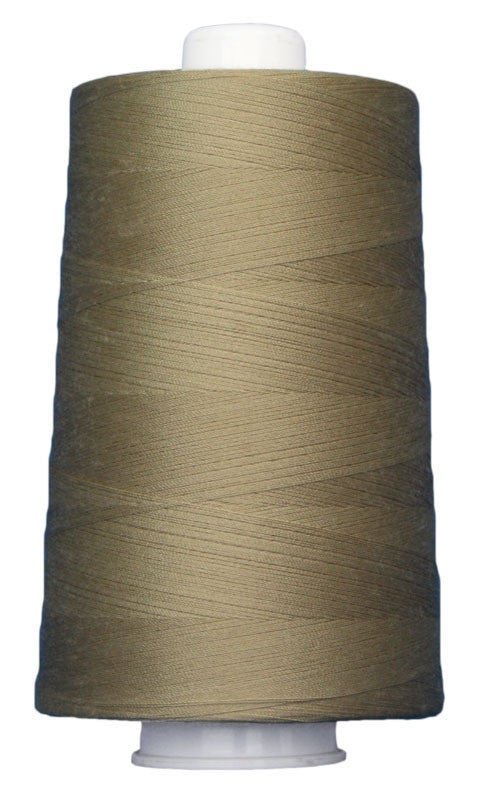 OMNI #3041 Flax 6000 yds Poly-wrapped poly core - TK Quilting & Design