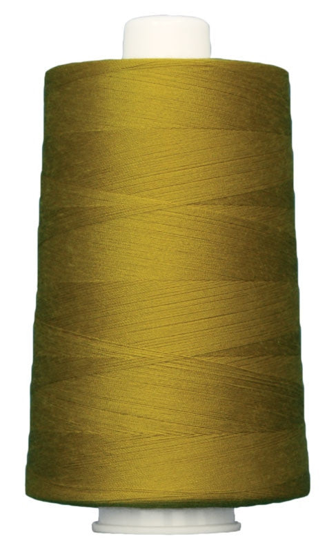 OMNI #3045 Gothic Gold 6000 yds Poly-wrapped poly core - TK Quilting & Design
