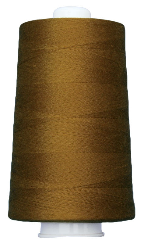 OMNI #3046 Antique Gold 6000 yds Poly-wrapped poly core - TK Quilting & Design