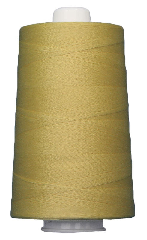 OMNI #3050 Yellow 6000 yds Poly-wrapped poly core - TK Quilting & Design
