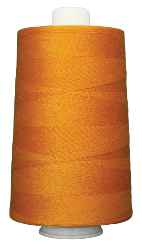 OMNI #3055 Orange Glow 6000 yds Poly-wrapped poly core - TK Quilting & Design