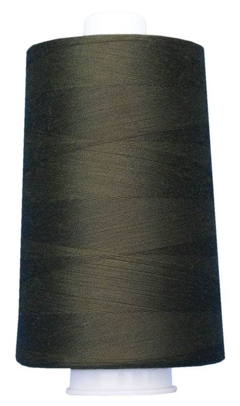 OMNI #3069 Dark Olive 6000 yds Poly-wrapped poly core - TK Quilting & Design