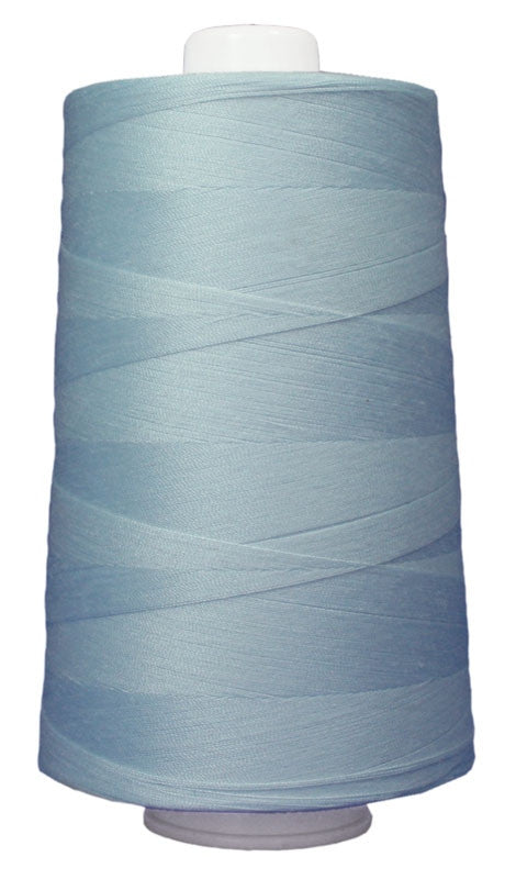 OMNI #3087 Blue Ice 6000 yds Poly-wrapped poly core - TK Quilting & Design