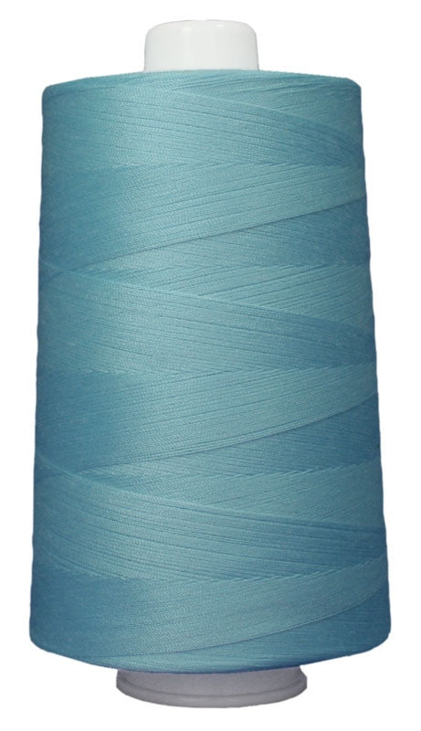 OMNI #3089 Light Turquoise 6000 yds Poly-wrapped poly core - TK Quilting & Design