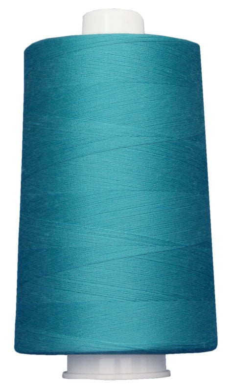 OMNI #3090 Medium Turquoise 6000 yds Poly-wrapped poly core - TK Quilting & Design