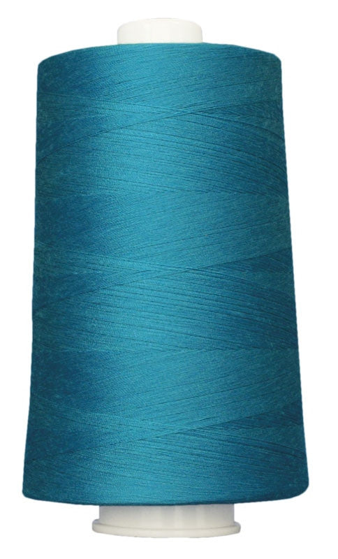 OMNI #3091 Blue Turquoise 6000 yds Poly-wrapped poly core - TK Quilting & Design