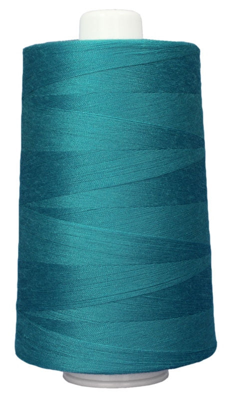 OMNI #3092 Green Turquoise 6000 yds Poly-wrapped poly core - TK Quilting & Design