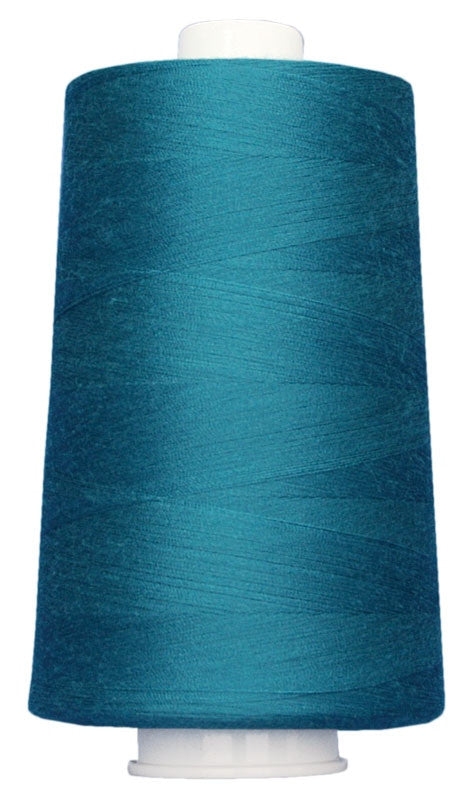 OMNI #3093 Blue Teal 6000 yds Poly-wrapped poly core - TK Quilting & Design II