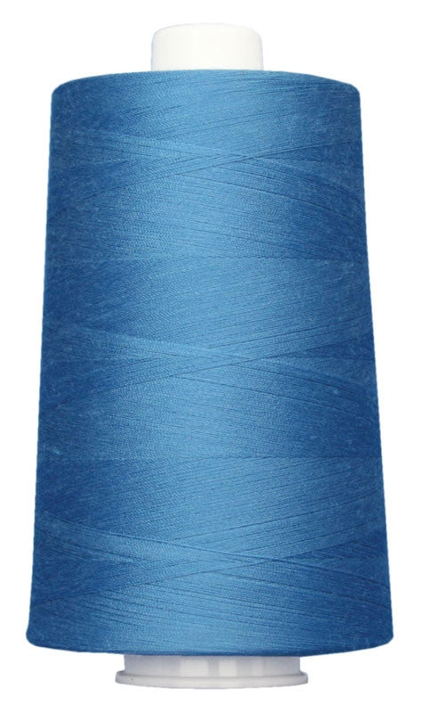 OMNI #3103 Ocean Blue 6000 yds Poly-wrapped poly core - TK Quilting & Design